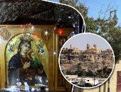 دير جبل الطير محطة رئيسية فى مسار العائلة المقدسة