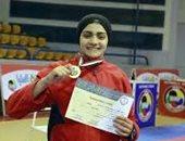 بطلة مصر فى الكاراتيه منة شعبان تحصد برونزية بطولة العالم بإسبانيا