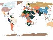 خريطة تكشف أكثر الأشياء بحثا فى العالم وفقا لجوجل