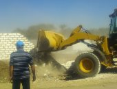 4 حملات لتنفيذ قرارات الإزالة بالعامرية غرب الاسكندرية