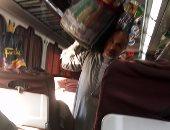 قارئ يشكو من انتشار الباعة الجائلين بقطار 997 أسوان – القاهرة