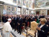 بالصور.. البابا يدعو الاتحاد الأوروبى لإعادة اكتشاف الوحدة من أجل المستقبل