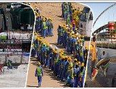 """العالم ينتفض ضد عبودية المستطيل الأخضر.. """"السخرة"""" سلاح قطر لبناء ملاعب كأس العالم قبل 2022.. منظمات دولية تدعو إلى فرض عقوبات قاسية ضد الدوحة.. و""""مناورة تميمية"""" لخداع الأمم المتحدة"""