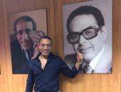 """صورة الكاتب الكبير مصطفى شردى تزين """"اليوم السابع""""بجانب رواد مهنة الصحافة"""