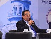 بالفيديو والصور.. جورج قرداحى من جامعة القاهرة: لم أؤمن يوما أنه هناك إعلام عربى واحد