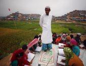 بالصور.. أطفال لاجئى الروهينجا يحرصون على حفظ القرآن فى مخيمات بنجلاديش