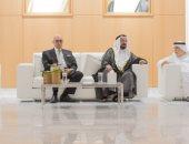 ماذا دار بين سلماوى والشيخ سلطان القاسمى فى افتتاح مدينة النشر؟