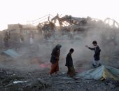 طيران التحالف العربى يقصف مخازن أسلحة للحوثيين بصنعاء