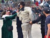 بالصور.. الشرطة المغربية تتدخل لإيقاف فوضى شراء تذاكر مباراة الأهلى والوداد