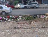 قارئ يشكو تراكم القمامة فى الحى العاشر بمدينة نصر