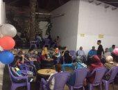بالصور.. شباب شمال سيناء ينظمون احتفالا للمكفوفين بالجهود الذاتية