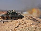 """الجيش السورى يعثر على شبكة أنفاق من مخلفات """"داعش"""" بدير الزور"""