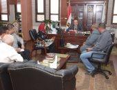 محافظ بني سويف يتابع مراحل تنفيذ مشروع تنمية القري