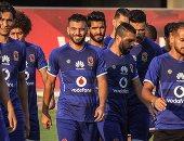"""بالفيديو.. الأهلى يصل فندق الإقامة فى المغرب وسط """"تصفيق"""" رغم الخسارة"""