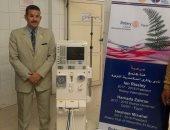 روتارى النزهة يسلم وحدة غسيل كلوى لمستشفى العامرية العام