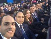 """متحدث الخارجية يتوسط شباب مؤتمر العالم: """"فخور بكونى جزءا من هذا الحدث"""""""