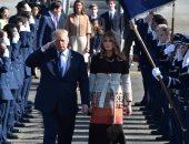بالصور.. الرئيس الأمريكى يصل اليابان فى مستهل جولته الأسيوية