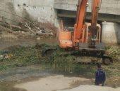 رفع 220 طن مخلفات من مجرى السيل بالمعصرة استعدادا للشتاء