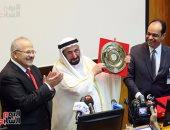 بالصور.. حاكم الشارقة من معهد الأورام: ندعم مصر بقوة.. والسيسي ينير للمصريين الطريق