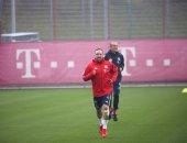 أخبار بايرن ميونخ اليوم عن عودة ريبيرى إلى التدريبات بعد الإصابة