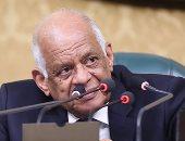 على عبد العال يقيم مأدبة غداء لوفد البرلمان المجرى ببهو الشورى