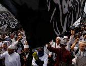 بالصور.. تظاهرات فى إندونيسيا ضد قرار الرئيس بحل الجماعات الإسلامية