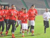ملعب مصر وأوروجواى فى كأس العالم يستضيف أول مباراة خلال شهر أبريل