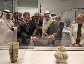 محمد بن زايد ينشر فيديو لجولات قادة الدول فى متحف اللوفر بأبو ظبى