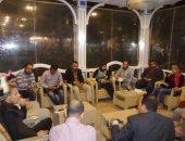 """بالصور.. مؤسسة """"بكرة لينا"""" تعقد اجتماعا لبحث مبادرة """"شباب ضد الغلاء"""" ببورسعيد"""