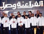 سفير مصر في سويسرا يستقبل بعثة المنتخب الوطني لكرة القدم