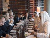 محمد بن زايد: اتفقنا مع ماكرون على دعم مبادرة مصر حول ليبيا