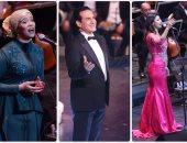 محمد ثروت وياسمين يتألقان فى الليلة الثامنة لمهرجان الموسيقى العربية