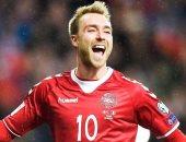"""منتخب الدنمارك يواجه خطر غياب إريكسن عن كأس العالم بسبب """"الولادة"""""""