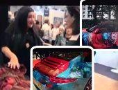 فيديو وصور.. الفنانة التشكيلية شاليمار شربتلى: بدأت الرسم وعمرى 3 سنوات.. الإبداع سهل مع الموهبة.. لوحاتى لم تتأثر بدراستى لعلم النفس.. بعض الفنانين كاذبون.. نحن جيل أفضل الأسوأ.. وأحلم بالرسم على برج القاهرة