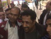 الشاب خالد يغادر شرم الشيخ بعد انتهاء فعاليات منتدى شباب العالم