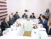 """""""المصريين الأحرار"""" يستقبل وفد الصداقة الصينى.. ويؤكد: طالبناهم بدعم الصين لمصر"""