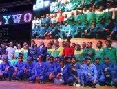بالصور ..محافظ جنوب سيناء يكرم المشاركين فى منتدى شباب العالم