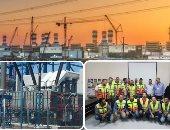 بالصور.. 9 آلاف عامل ومهندس يسابقون الزمن للانتهاء من محطة كهرباء البرلس قبل موعدها بـ9 أشهر.. 35 ألف ساعة تشغيل دون إصابات بنسبة إنجاز 94%.. وحصول المحطة على المركز الأول للمرة الثالثة بالشرق الأوسط