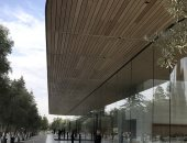 موظفو أبل يشتكون من ارتطامهم بالجدران الزجاجية بمقرها الجديد Apple Park