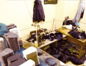 الأموال العامة تضبط ورشة لتصنيع الأحذية الرياضية المقلدة لأشهر الماركات