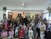 بالصور.. أمن المنوفية ينظم ندوة عن المواطنة بمدرسة نصر عبدالغفور بمنوف