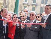 معرض الإنتاج الحربى بميدان التحرير يرفع شعار صنع فى مصر