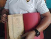 جمارك المطار تحبط محاولة تهريب مجموعة من الكتب والمخطوطات الأثرية