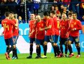 شاهد.. إسبانيا تبدأ الاستعداد للمونديال بخماسية فى كوستاريكا