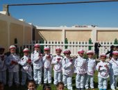 """أطفال مدرسة بطور سيناء يقدمون نموذج محاكاة لمنتدى شباب العالم """"صور"""""""