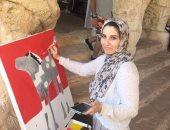 160 فنانا من 30 دولة يواصلون الإبداع فى كرنفال مصر الدولى للفنون بشرم الشيخ