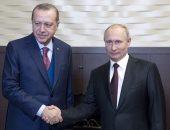 """إردوغان لـ""""بوتين"""": سوريا ستواجه العواقب لو اتفقت مع المسلحين الأكراد"""
