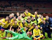 شاهد.. ماذا فعل لاعبو السويد بعد التأهل للمونديال؟