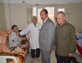 صور.. رئيس مدينة مطوبس يجرى جولة مفاجئة ويحيل عدد من العاملين للتحقيق