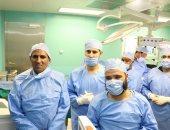 إجراء 14 عملية جراحية لمرضى العيون غير القادرين بمستشفى أسوان الجامعى